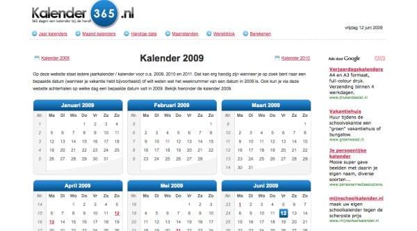 kalender 365 een online overzicht van alle feest dagen frankwatching reports. Black Bedroom Furniture Sets. Home Design Ideas