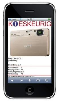 Kieskeurig.nl: duidelijke en gedetailleerde productafbeeldingen