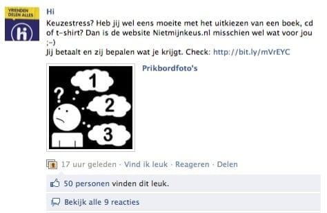 Hi Facebook posting