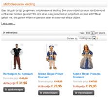 Middeleeuwse kleding categorie