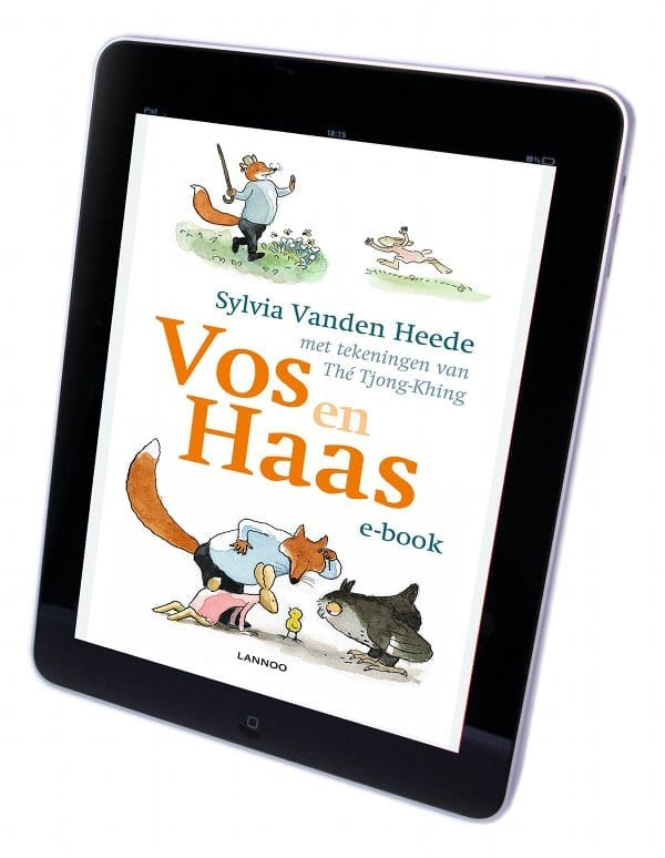 Vos en Haas iPad