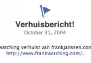 Frankwatching verhuisd