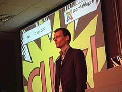 Aartjan van Erkel over verleiden op internet tijdens de Joomla!Dagen