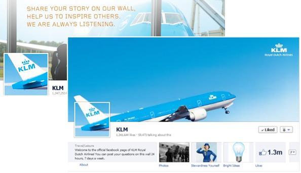 Facebook-KLM
