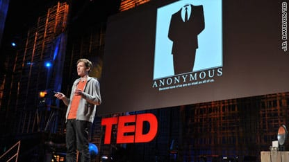 Christopher Poole bij TED