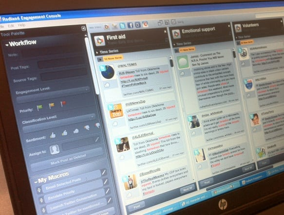 Rode kruis dell managen noodhulp via social media for Consul monitoring