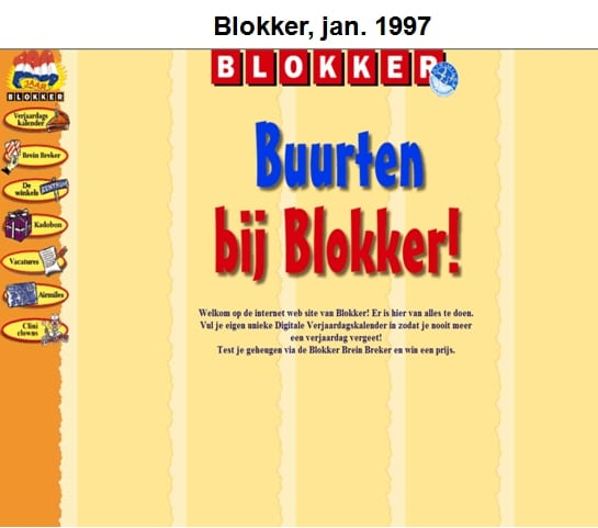 Website blokker 1997
