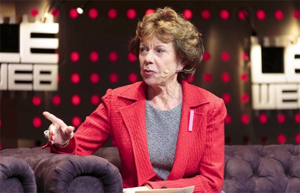 Le Web- Neelie Kroes