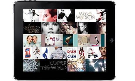 Vogue ipad app