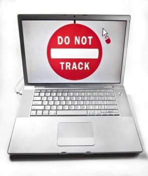 do not track knop