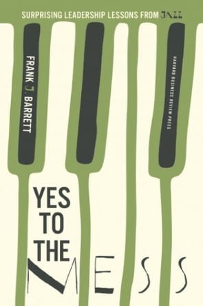 Book cover Yes to the Mess