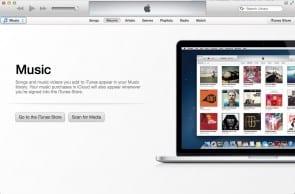 De 'empty state' van iTunes