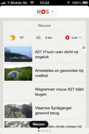 NOS app
