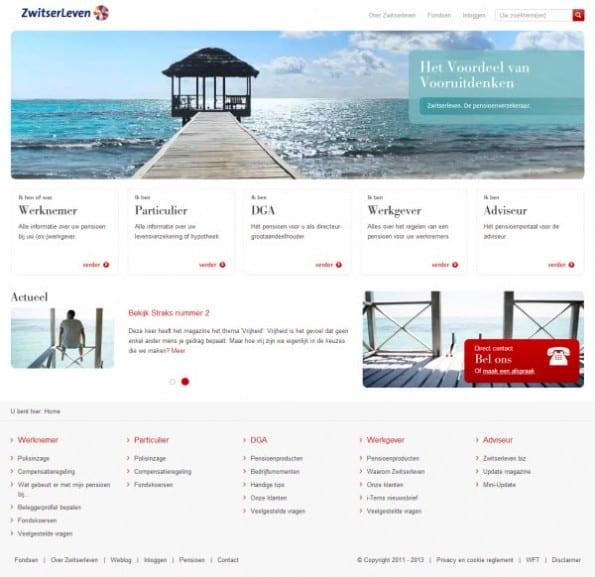 Het homepage dilemma wel of geen doelgroepingangen frankwatching - Voorbeeld van een buitenzwembad ...