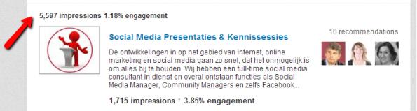 LinkedIn Products & Services Viraliteit Aanbevelingen