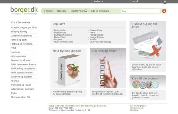 Website borger.dk
