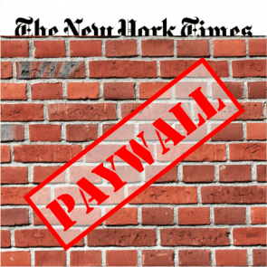 Betaalmuur New York Times