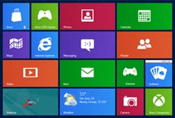 windows 8 flat