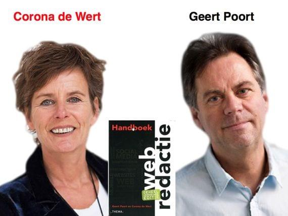 Auteurs Handboek webredactie Geert Poort en Corona de Wit recensie zes denkende hoofddeksels THEMA uitgeverij van schouten en Nelissen