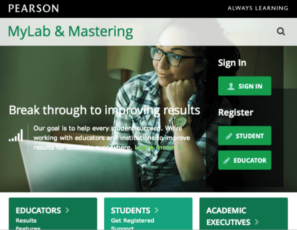 Pearson MyLab & Mastering