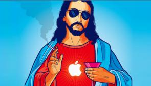 Jezus Steve Jobs