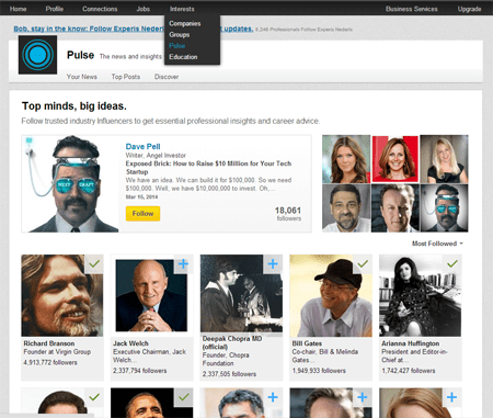LinkedIn Top  Influencers