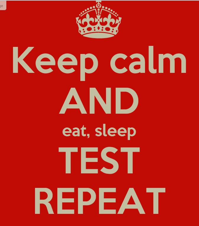 eat sleep test repeat