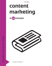 Cover contentmarketing in 60 minuten