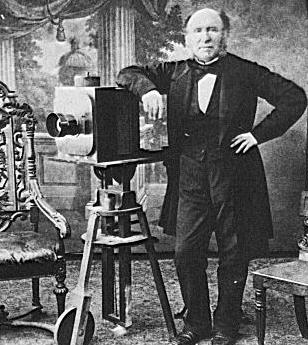 Foto uit 1850, gemarkeerd als Public Domain