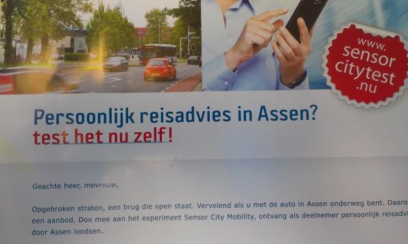 De gemeente Assen is als 'sensor city' al ver met (big) data experimenten