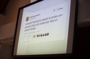 Keynote beroepstwitteraar David Levin