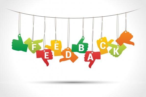 Afbeeldingsresultaat voor positieve feedback