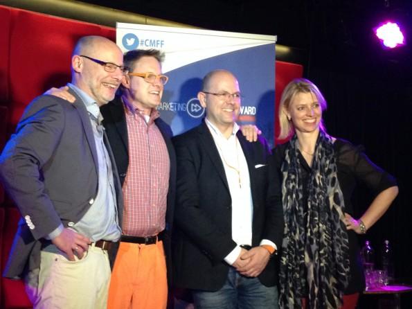 de vier sprekers van CMFF15