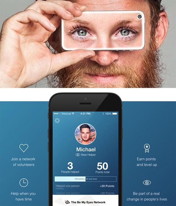 'Be My Eyes' app helps blind people do everyday things ...