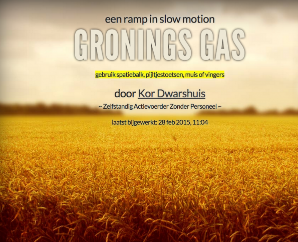 gronings-gas-story