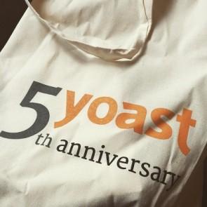 Vijfjarig bestaan Yoast