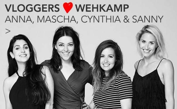 Voorbeeld van een samenwerking met bloggers: Wehkamp ging eerder dit jaar in zee met vier bekende Nederlandse bloggers.