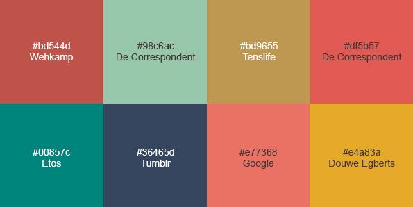 Dit zijn de 10 webdesigntrends voor 2016 frankwatching - Kleur trendy restaurant ...