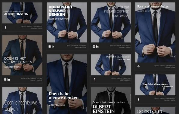 Preview van je net gemaakte design