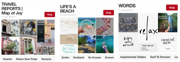 Map of Joy op Pinterest