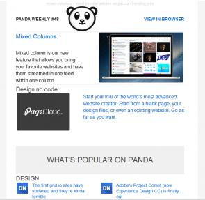 panda-newsletter