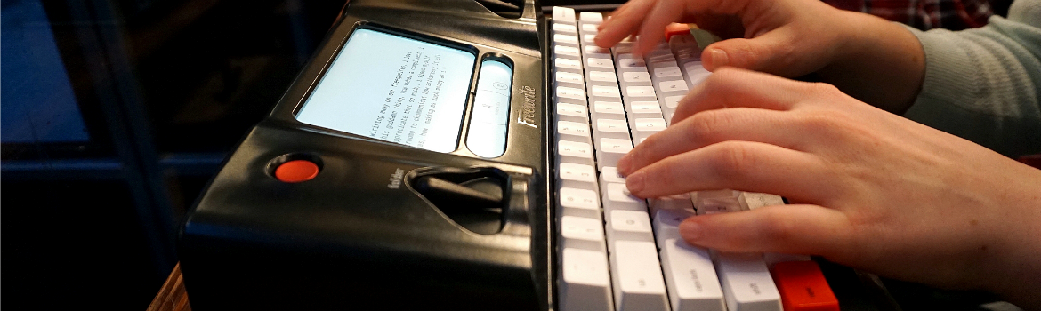Hands On With the Hemingwrite
