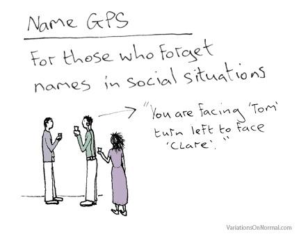 Naam GPS - Dominic Wilcox