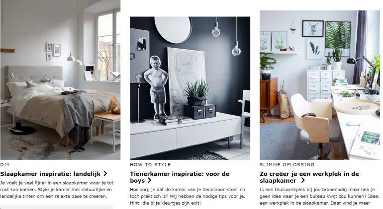 Inspiratieplatform van IKEA