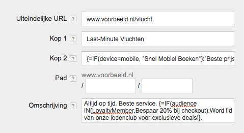 adwords if functies screenshot2