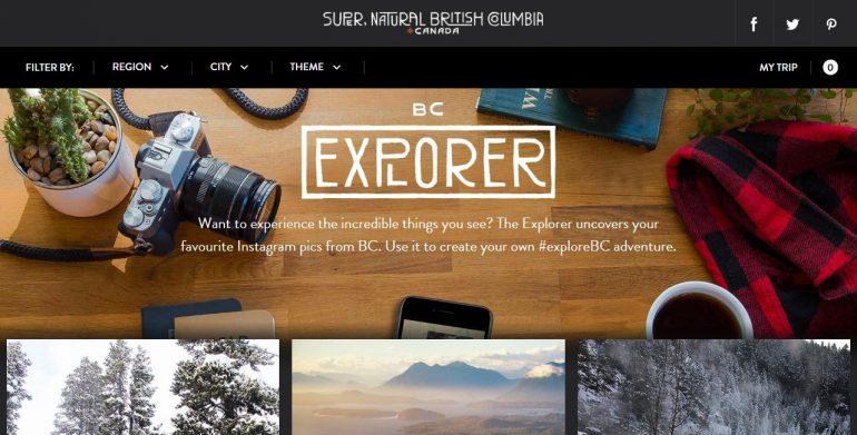 toerisme marketing destination british columbia