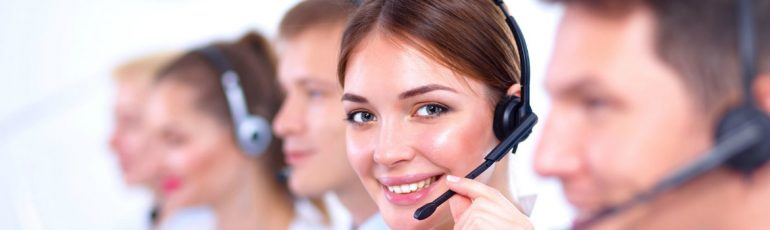 stockfoto callcenter header