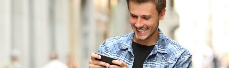 jongen video smartphone