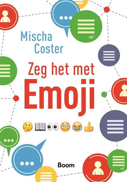 boek zeg het met emoji