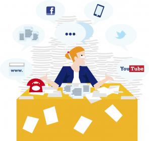 Problemen digitale werkomgeving
